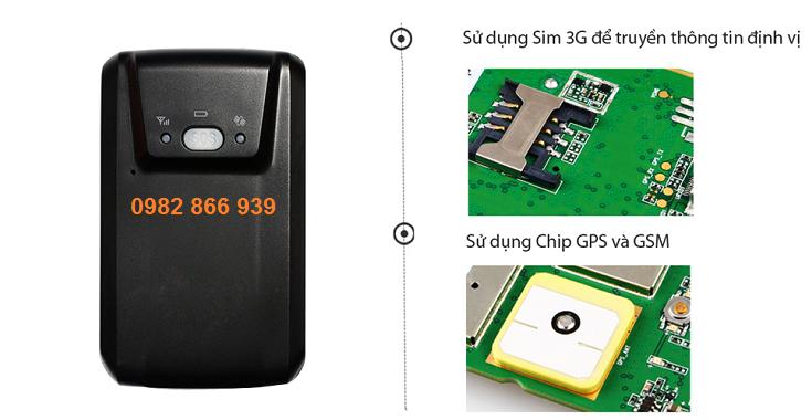 Bán Chip định vị mini siêu nhỏ GT03A