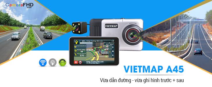 Thiết bị dẫn đường Vietmap A45 tại Sao Việt