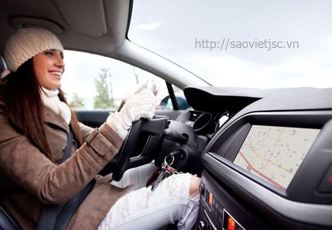 thiết bị định vị kết nối bluetooth điều khiển xe