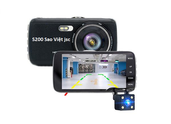 Camera hành trình hải mắt S200 giá rẻ cảm ứng