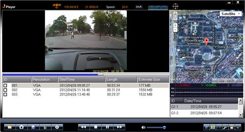 Camera hanh trình ô tô ghi lại cảnh quay rõ nét chi tiết