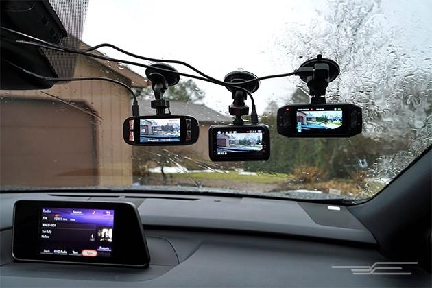 camera hành trình được chế từ điện thoại cũ