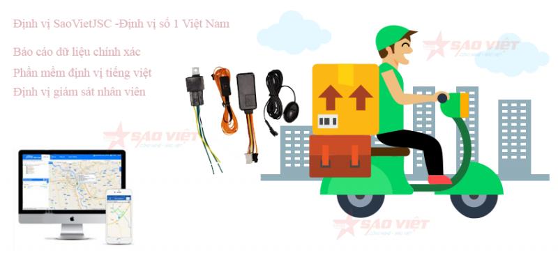 Định vị ô tô giúp quản lý nhân viên giao hàng
