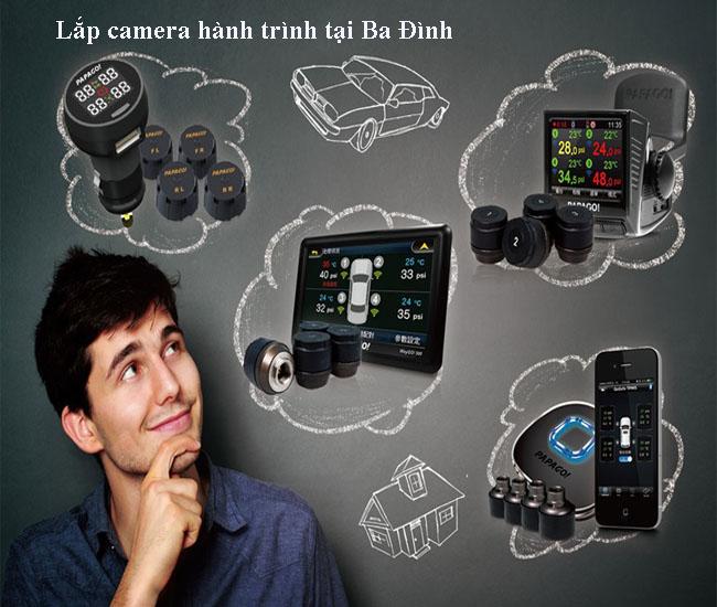 lắp camera hành trình ô tô tại quận ba đình