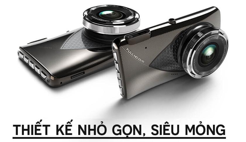 Camera hành trình S-200 thiết kế sang trọng