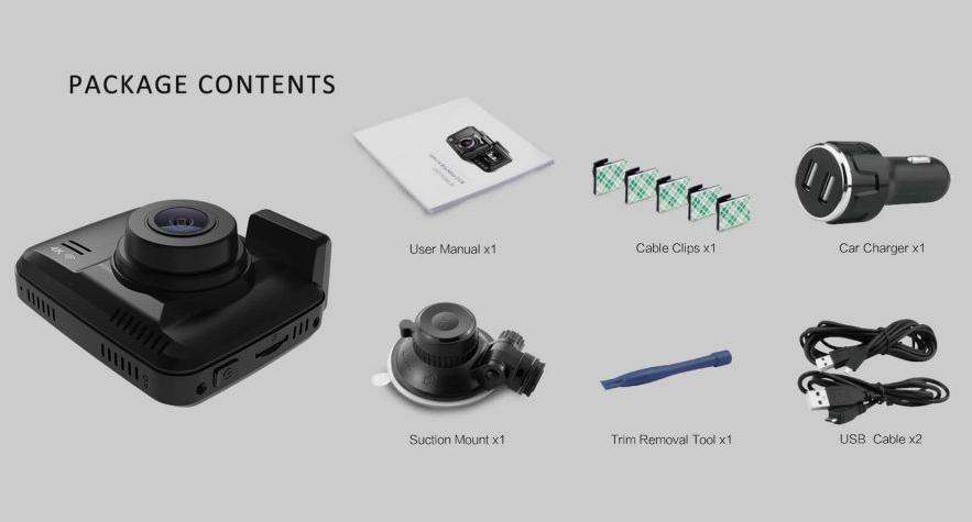 Trọn bộ sản phẩm camera S600