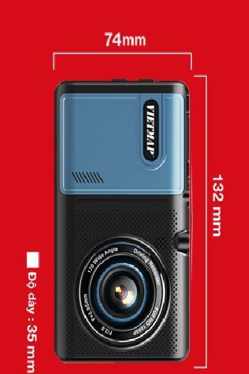 Thông số kỹ thuật camera hành trìnH A50