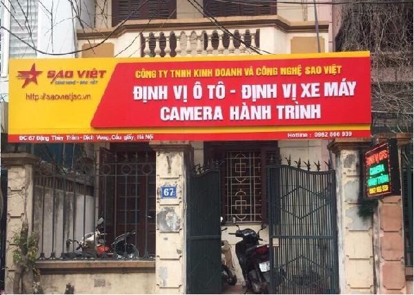 Địa chỉ cung cấp định vị ô tô tại Hà Nội