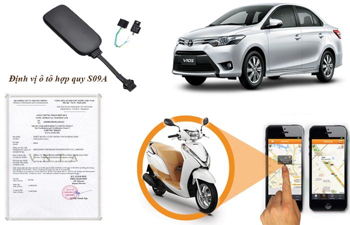 Chứng nhận hợp quy GSM thiết bị định vị gps