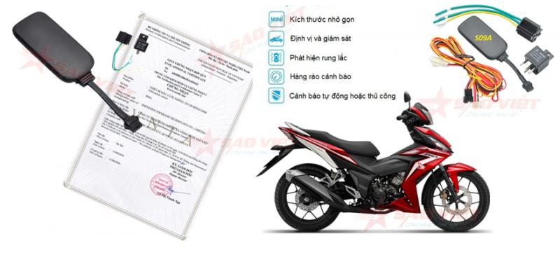 Định vị xe máy Sao Việt Luôn dạt chất lượng