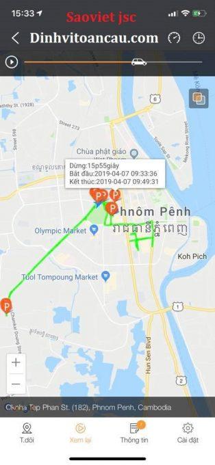 Xem lại hành trình ô tô tại cambodia