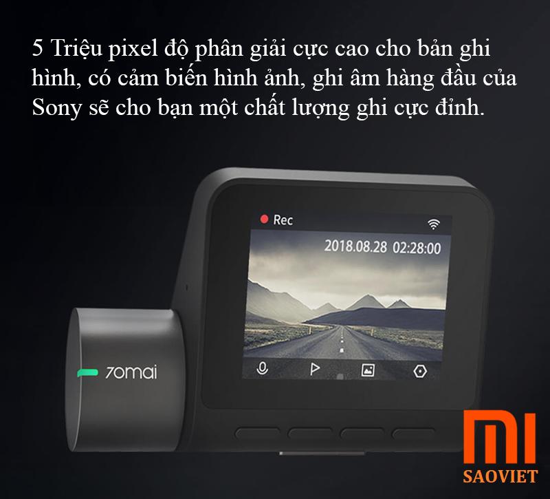 Camera Hành Trình Xiaomi 70 Minutes Pro Dashcam