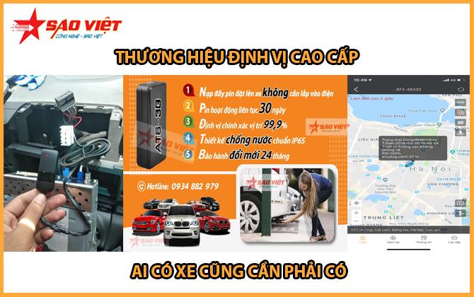 Định vị ô tô cao cấp Sao Việt JSC
