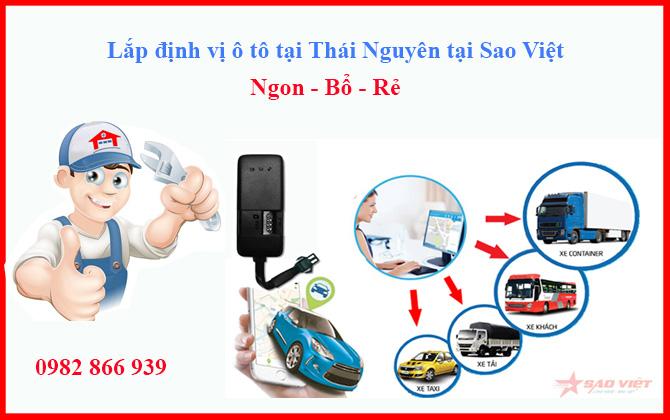 định vị ô tô tại Thái Nguyên