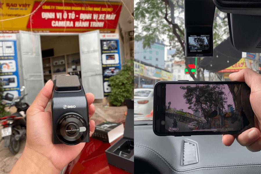 hình ảnh thực tế camera G300H-1