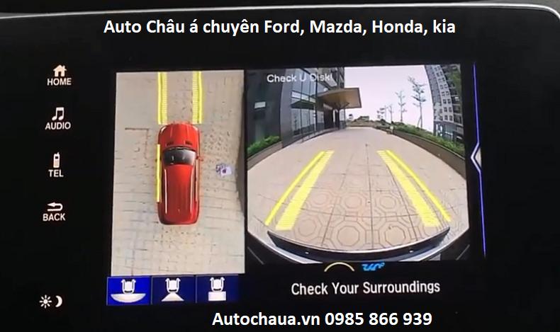 Camera 360 xe ô tô Honda