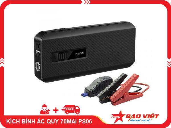 kích điện bình ắc quy xe ô tô 70mai PS06