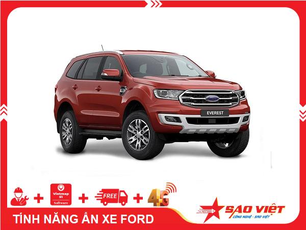 Kích hoạt tính năng ẩn xe Ford Everest