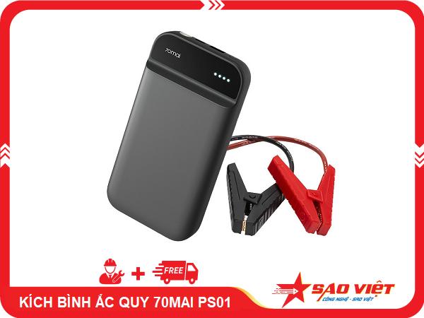 Bộ kích điện bình ắc quy xe ô tô 70mai PS01
