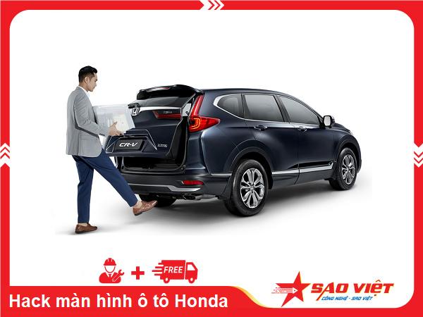 Kích hoạt tính năng ẩn trên xe Honda CR-V